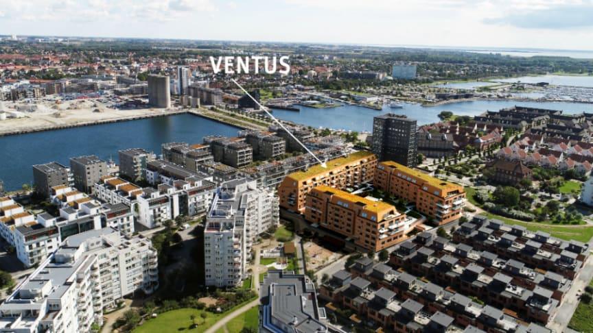 Limhamns Ön lockar! Bara ett tiotal lägenheter finns kvar i Riksbyggens Brf Ventus.