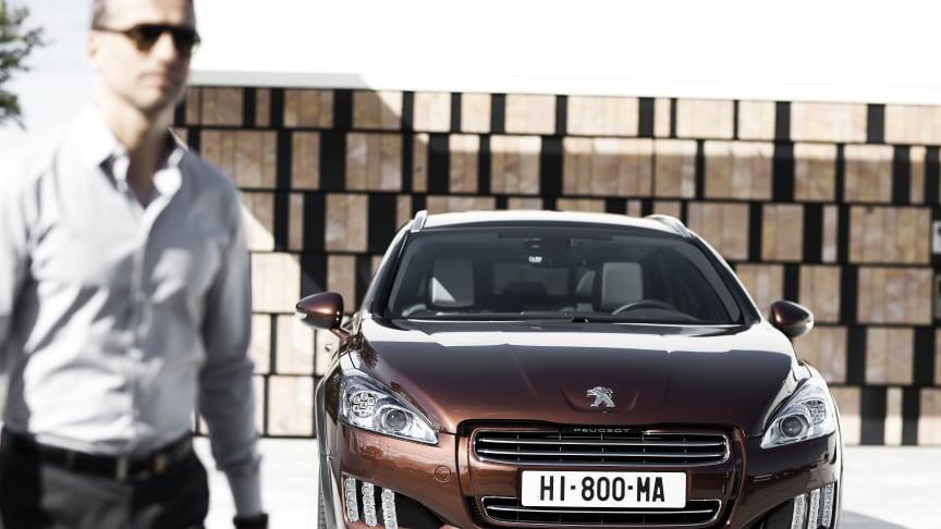 Peugeot är det snabbast växande bilmärket i Sverige
