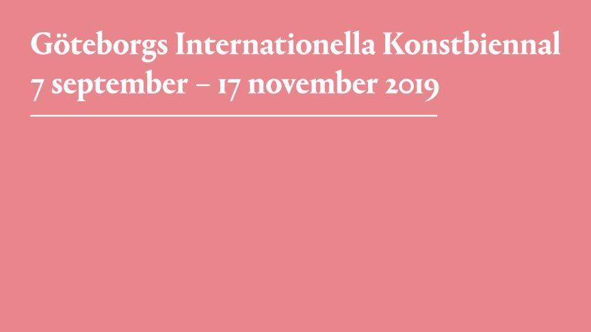 Snart tillkännages Göteborgs Internationella Konstbiennals titel och tematik!