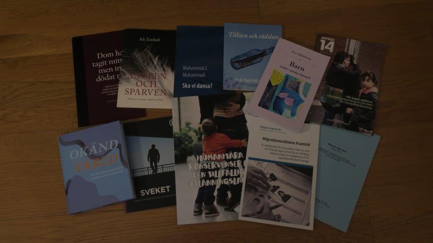 Ett urval av böcker och rapporter med anknytning till den tillfälliga begränsningslagen.