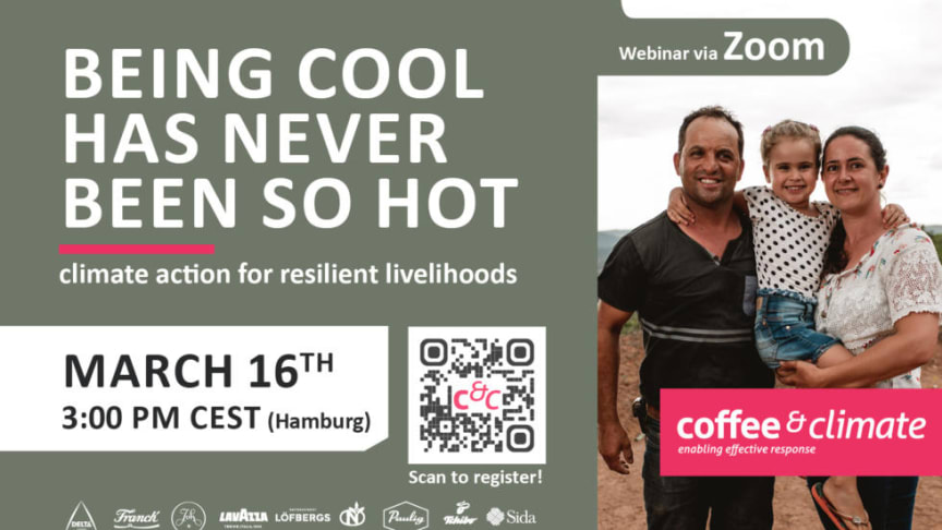 """Being cool has never been so hot"" - a webinar about climate action within the coffee sector"