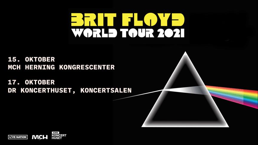 Brit Floyd - World Tour 2021 kommer til Herning og København til oktober