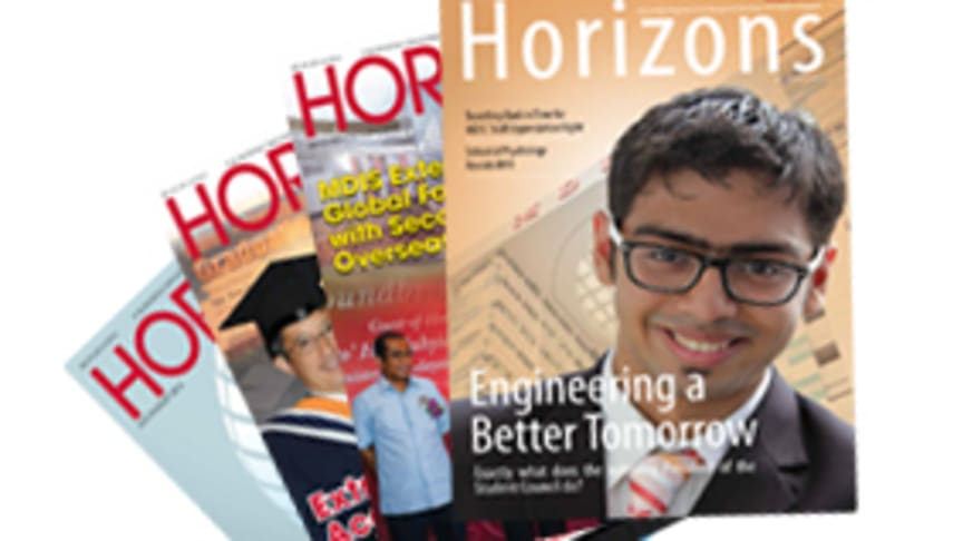 Horizons  - The Official Bi-Monthly Publication by MDIS