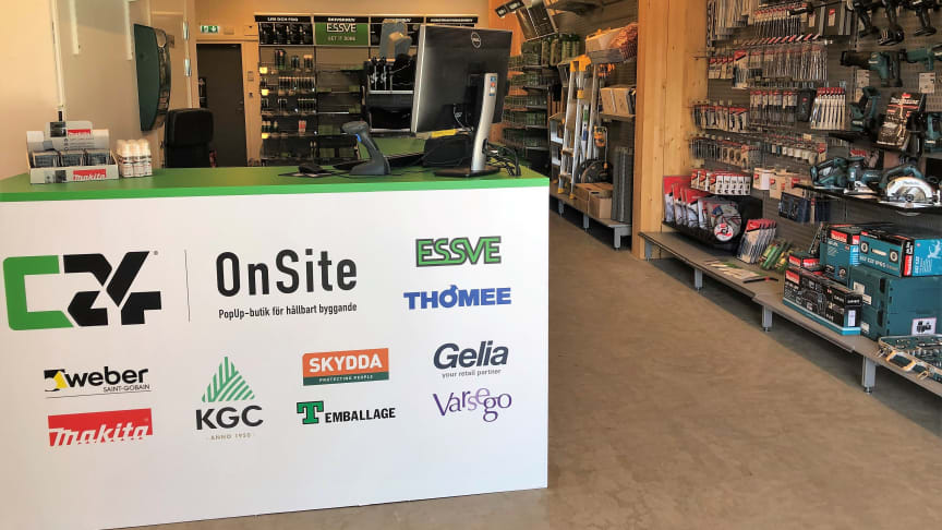 C24 Bygg - OnSite vid Godisfabriken i Gävle