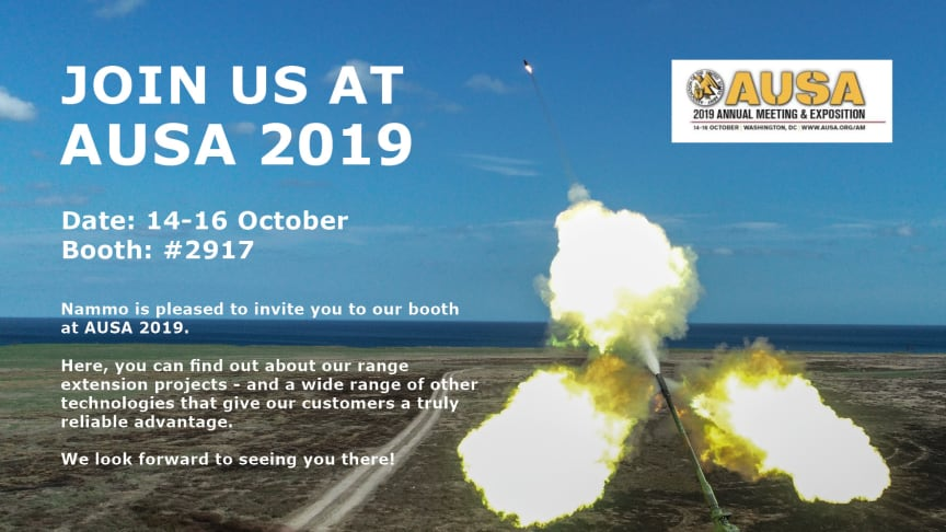 Nammo at AUSA 2019