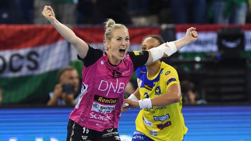 Linn Jørum Sulland og Vipers Kristiansand skal ut i en ny sesong i EHF Champions League. FOTO: Ritzau Scanpix