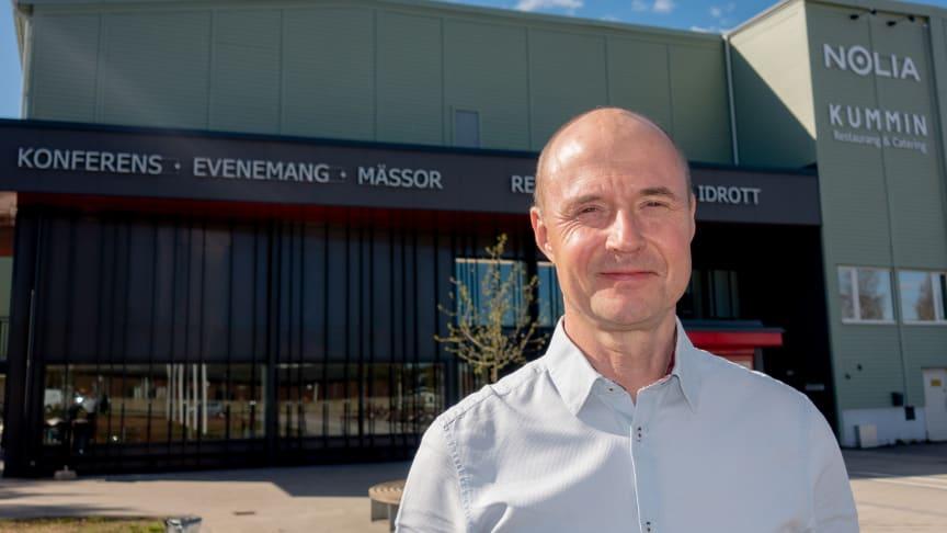 Christer Nederstedt, ny försäljningschef på Nolia AB.