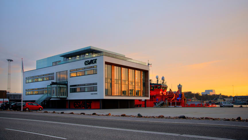 ESVAGT's new premises photographed by Poul Madsen, Profoto for Esbjerg County's City Foundation.