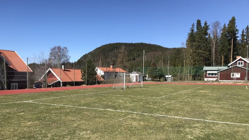 Nygammal idrottsplats berikar föreningslivet i Borlänges närområde