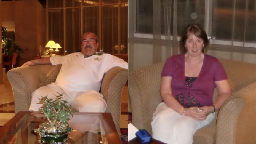 Neil and Kim Bacon.  Systematically targeted over 12 years.