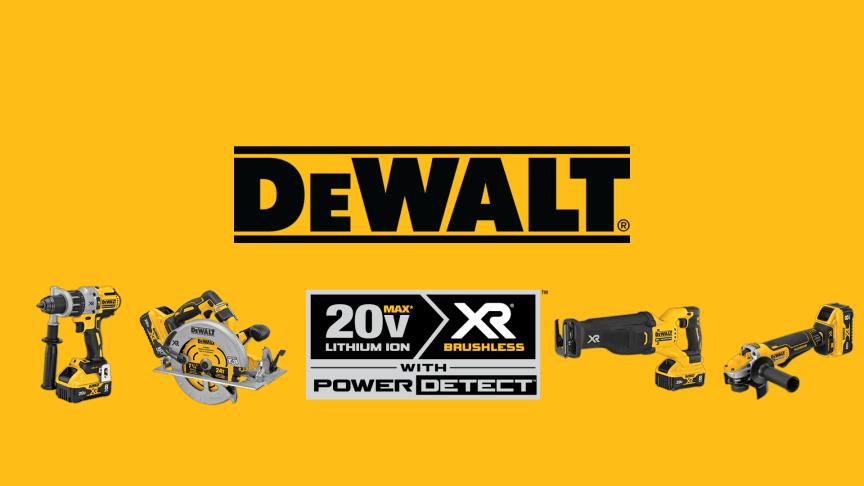DEWALT® Announces POWER DETECT™ Technology