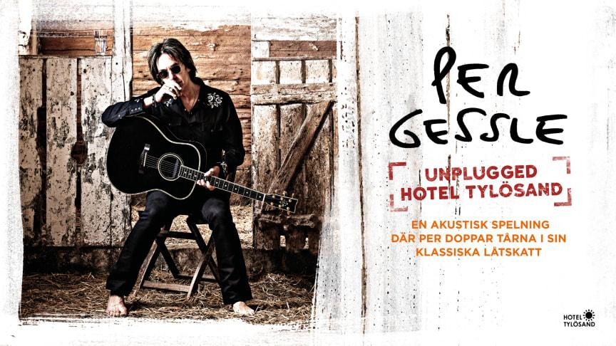 Per Gessle unplugged på Hotel Tylösand i sommar