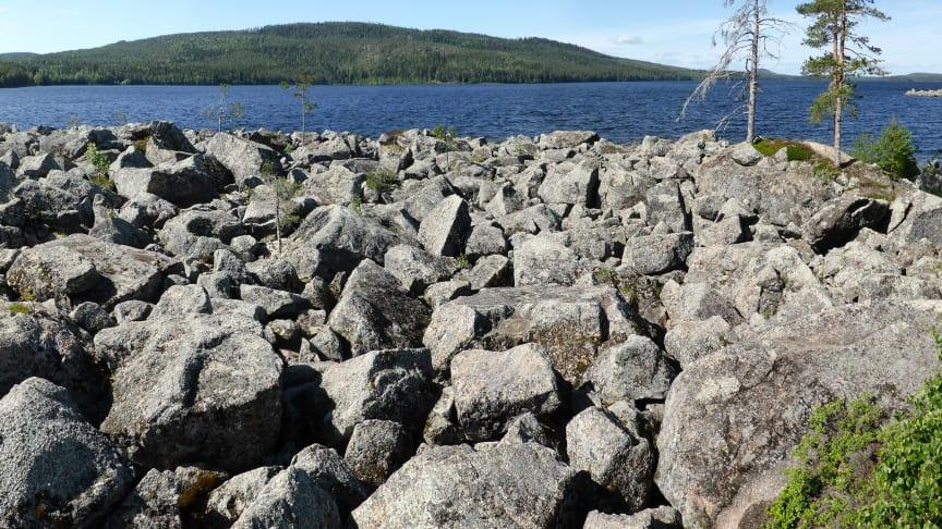 Ny förklaring till hur svenska stenblocksfält uppstått