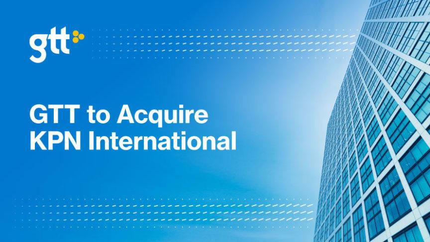 GTT förvärvar KPN International