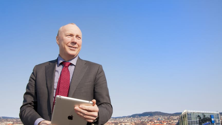 Adm dir. Kjell Rusti sier at Google og Sopra Steria vil dele erfaringer rundt transformasjonsprosjekter samt samarbeide med prosjekter i fremtiden
