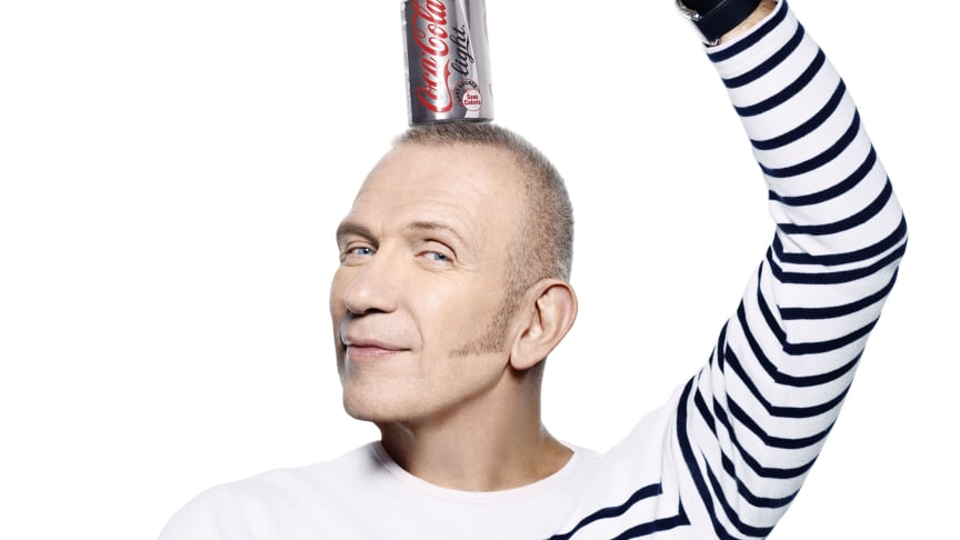 JEAN PAUL GAULTIER blir Creative Director för Coca-Cola light