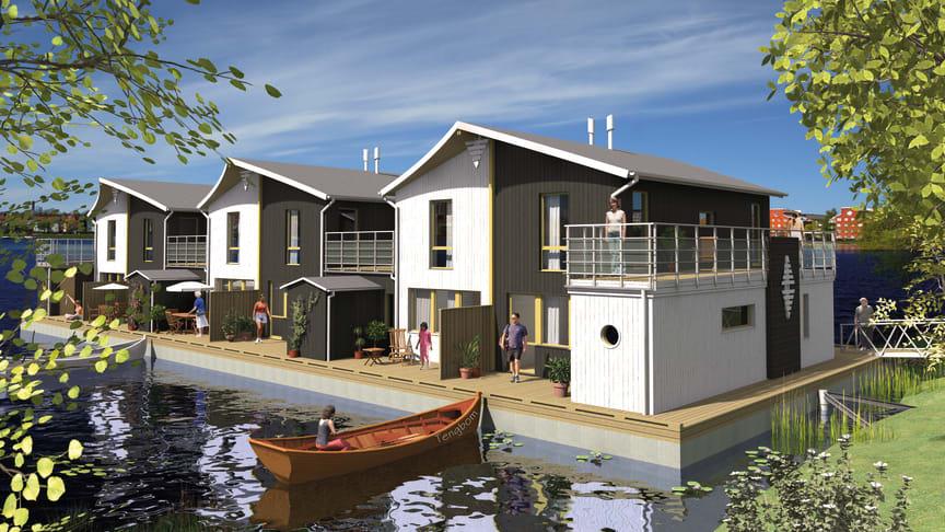 Flytande bostäder ett alternativ vid klimatförändringar