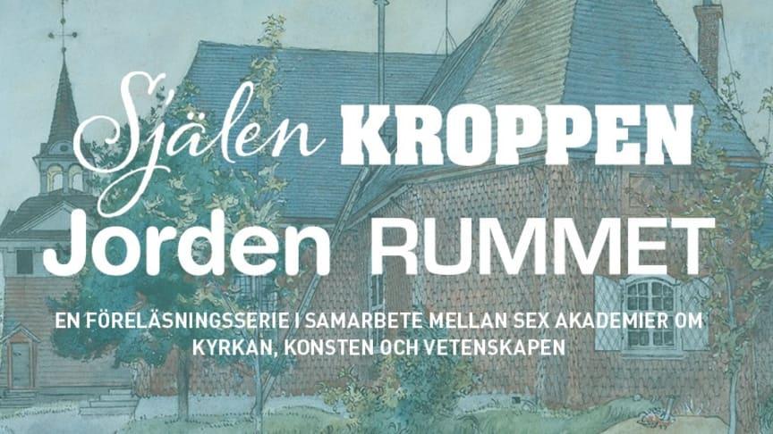 Carl Larsson, Sundborns gamla kyrka, Nationalmuseum (Foto: Erik Cornelius), public domain. Bilden beskuren och ljussatt för denna publicering.