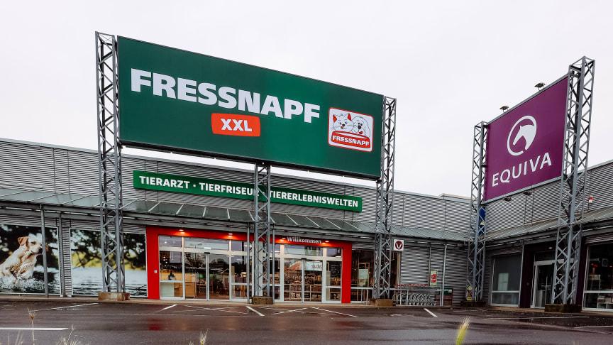 Modern und im neuen Look: Der Fressnapf XXL-Markt in Krefeld Foto: Fressnapf Holding SE/Yvonne Ploenes