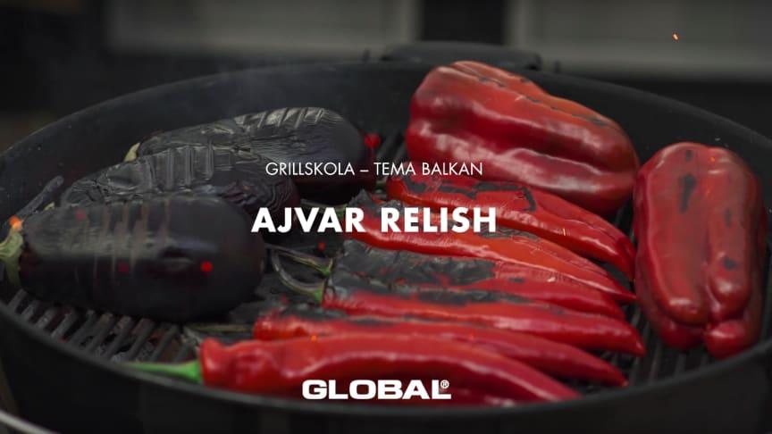 Global grillskola - Ajvar relish