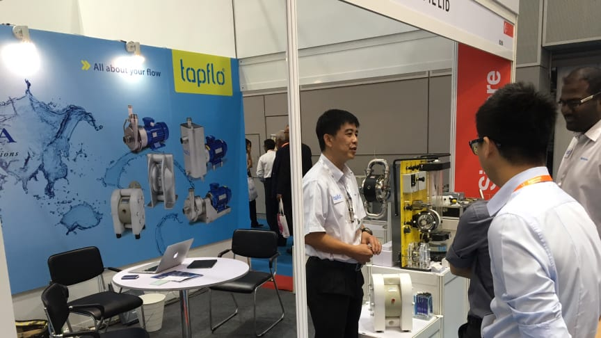 Tapflo Products at AsiaWater Exhibition in Kuala Lumpur