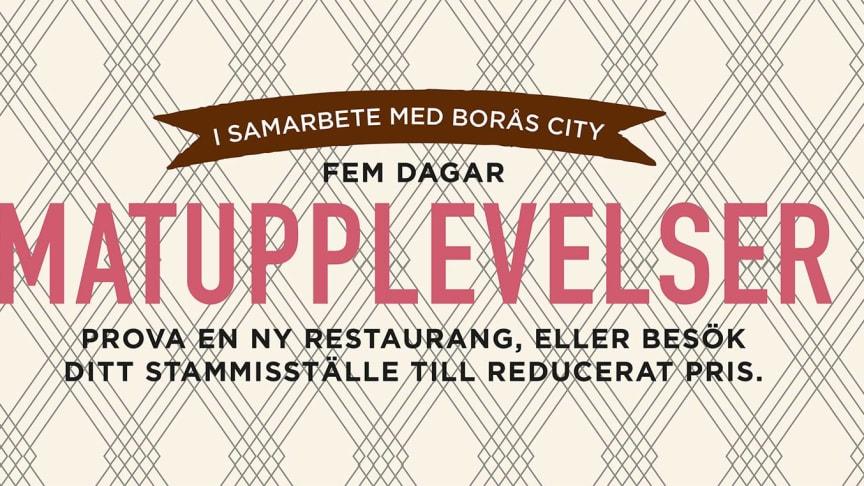 Restaurangveckan i Borås växer!