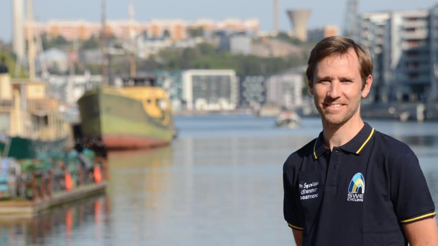 Fredrik Kessiakoff har arbetat hårt för att stärka MTB internationellt. Nu träder han in som ny förbundskapten för MTB. FOTO: Jenny Palmqvist/SCF
