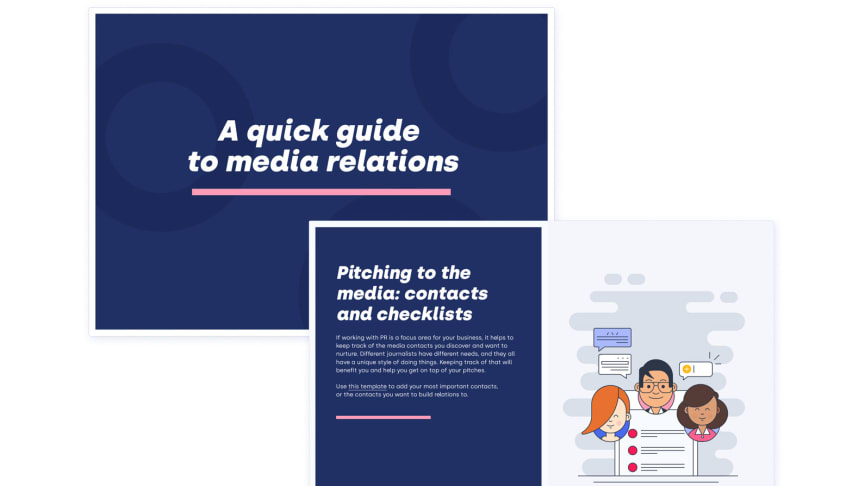 New guide: How to work with media relations in 2020
