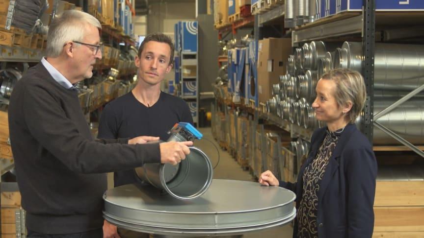 I Morgendages Indeklima snakker vi om effektiv ventilation baseret på ultralydsmåling med produktchef Niels Mulvad og ventilationstekniker Kaj Thingstrup.