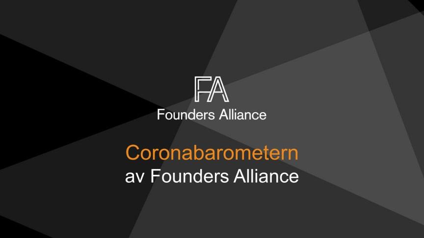 Coronabarometern av Founders Alliance 22 mars 2020
