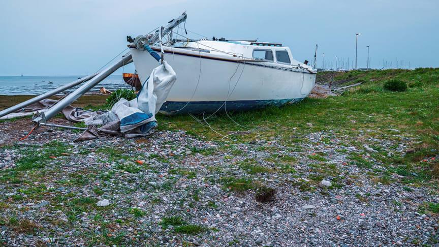 Lever den gamle båten til gjenvinning og få 1000 kroner i vrakpant.