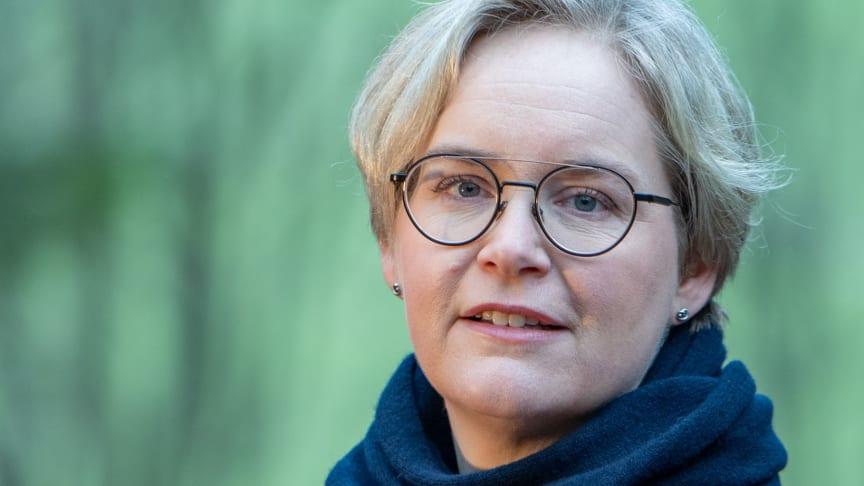 Carin Fhyr är ny kommunikationschef i Skövde kommun. Foto: privat.