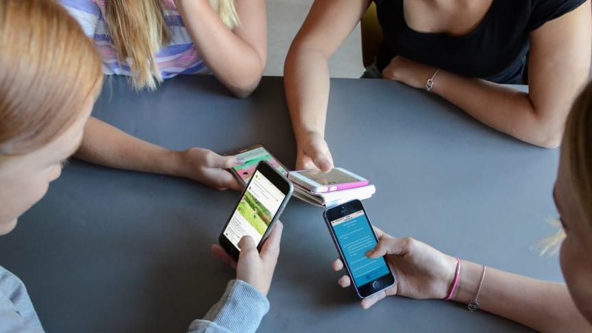 Majoriteten av Sveriges skolor har någon form av mobilförbud