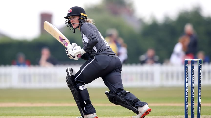 Emma Lamb was last in the England squad in 2016. Photo: Getty Images