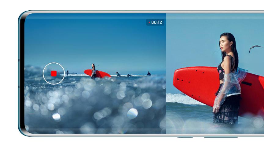 Huawei lanserar ny, spännande kamerafunktion - Dual-View Camera Mode