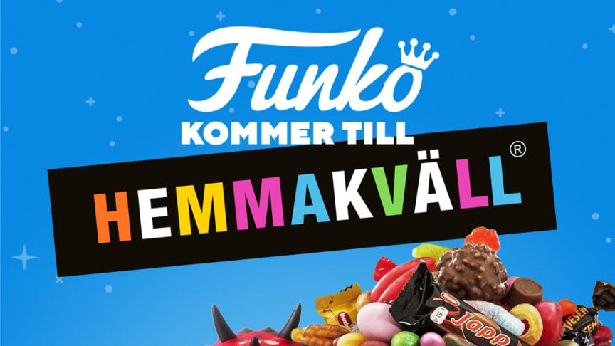 FUNKOs popkulturprodukter snart till utvalda Hemmakväll butiker