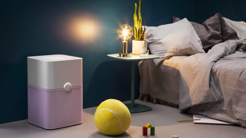 The Blue air purifier from Blueair helps create a safer, better bedtime environment by working silently to remove airborne contaminants that threaten health and wellbeing, including allergens, viruses and volatile organic compounds.