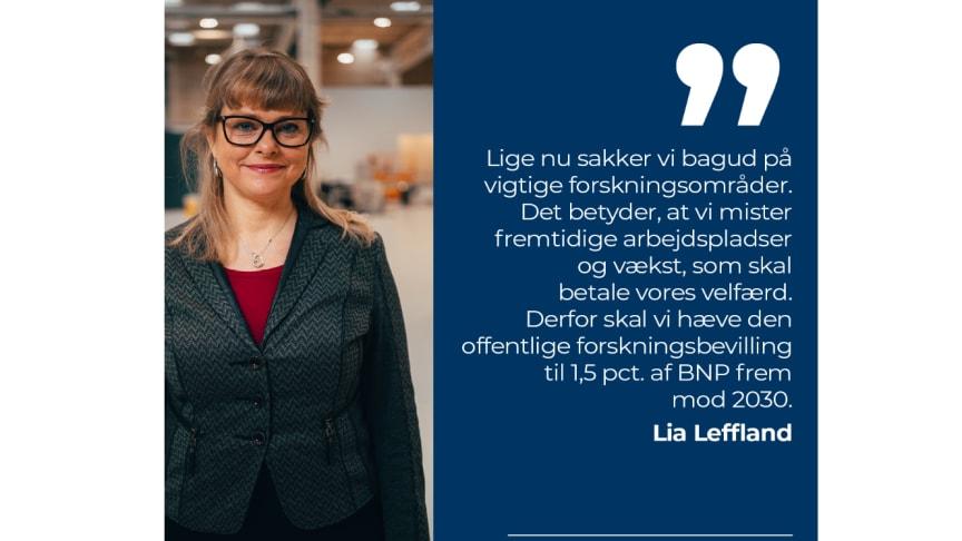 Akademidirektør i ATV, Lia Leffland