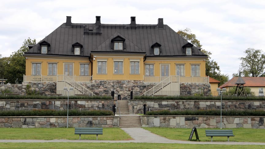 Kristinahuset på Stora Sköndal. Här har Ebab arbetet med traditionellt beprövade metoder kombinerat med nutidens teknik i syfte att förvalta historia för framtiden.