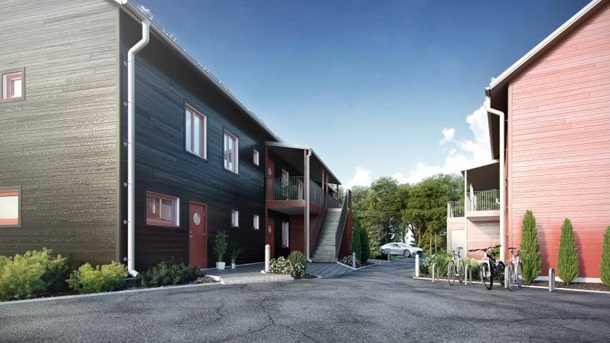 EA Fastigheters hyresrätter på Malmen, Gäddeholm.