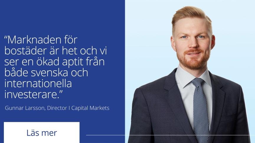 Gunnar Larsson, Director Capital Markets på Colliers.