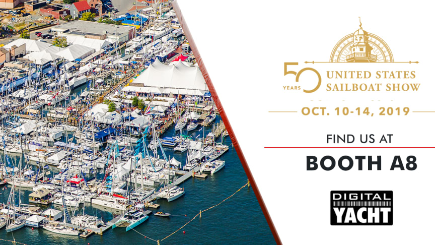 Digital Yacht at the Annapolis Sail Boat Show 2019 - Booth A8