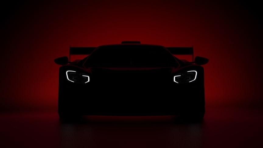 Ford avslöjar spännande nyheter om Ford GT vid en presskonferens den 4 juli.