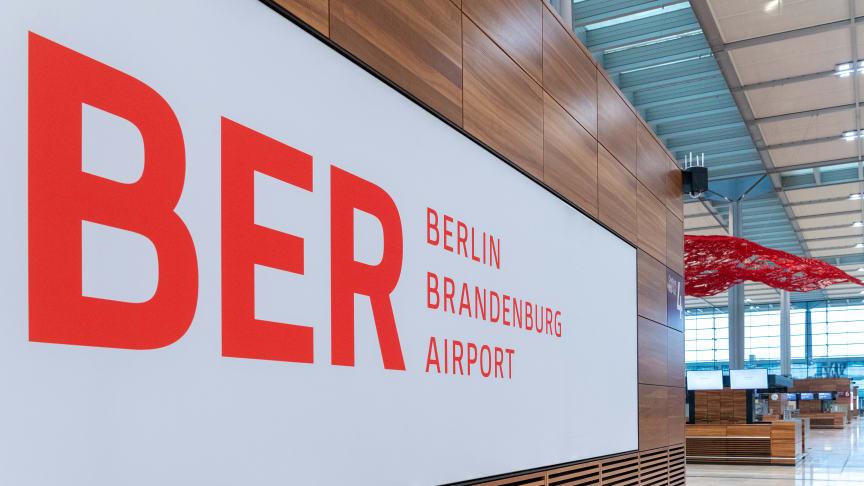 Lufthavn Berlin Brandenburg Willy Brandt – kort Lufthavn BER
