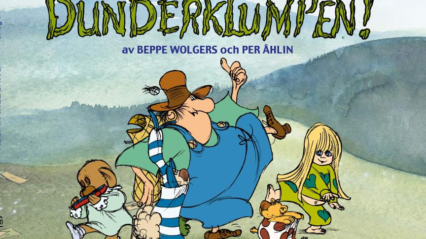 Nyutgåva av Beppe Wolgers och Per Åhlins mästerverk Dunderklumpen