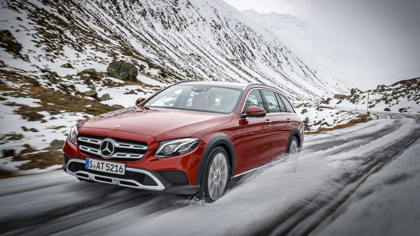 Försäljningen av Mercedes-Benz ökade med 15% i Sverige under 2017.