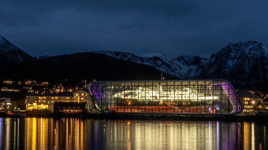 Offisiell åpning av det nye Hurtigrutemuseet foretas lørdag 28. august. Foto: Kolbjørn Hoseth Larssen.