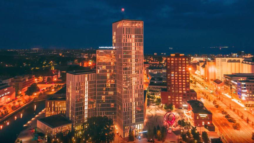 Clarion Malmö Live blev rankad som nr 6 på Tripadvisor över Sveriges bästa hotell 2019.