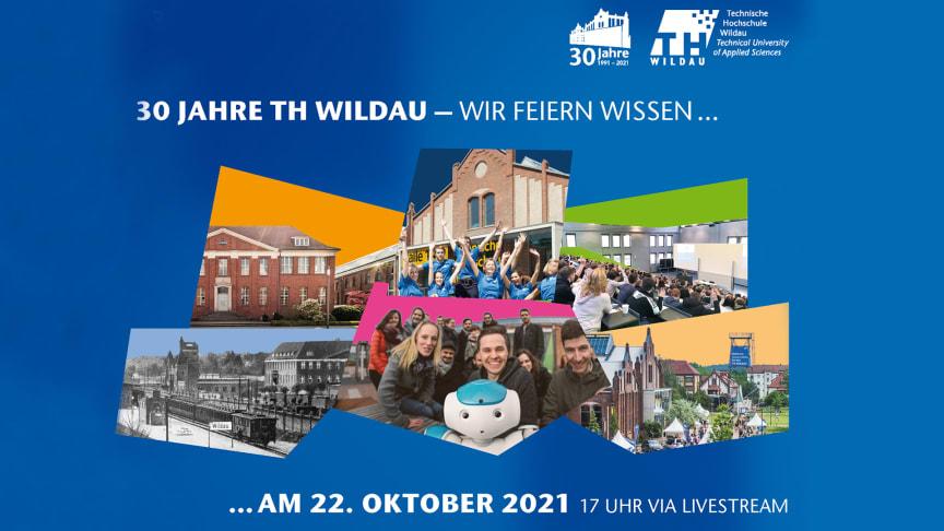 1991 bis 2021 – die TH Wildau feiert am 22. Oktober ihren 30. Geburtstag und damit auch 30 Jahre Wissenschaft, Lehre, Forschung, Transfer und vieles mehr. (Bild: TH Wildau)