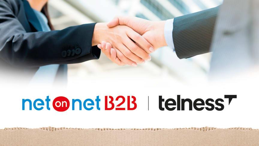 NetOnNet växlar upp sin satsning på företagskunder genom samarbete med telekomspecialisten Telness